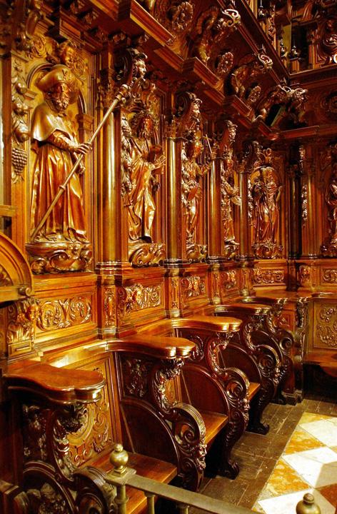 Sillería coro Catedral Málaga