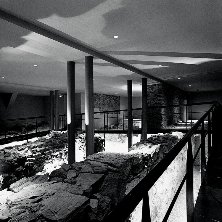 Yacimiento arqueológico Museo Picasso Málaga