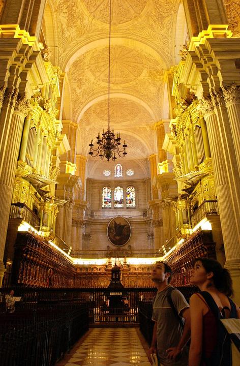 Interior La Catedral Málaga