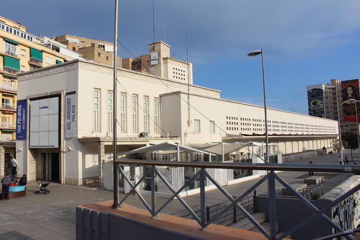 Exterior del CAC Málaga
