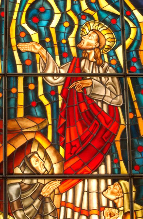 Vidriera Catedral Málaga