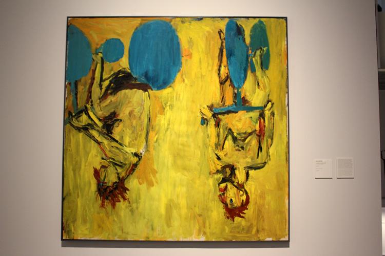 Georg Baselitz, Pompidou Málaga