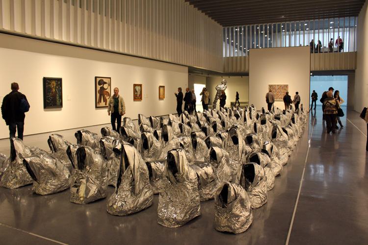 'Ghost', Kader Attia. Centro Pompidou